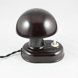 LAMPE CHAMPIGNON MARRON - 1